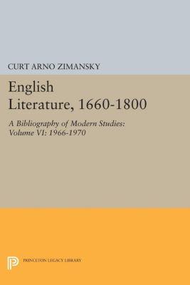 English Literature, 1660-1800, Curt Arno Zimansky