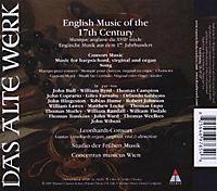 English Music Of The 17th Century - Produktdetailbild 1