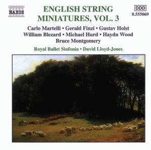 English String Miniatures Vol. 3, David Lloyd-Jones, English Nort