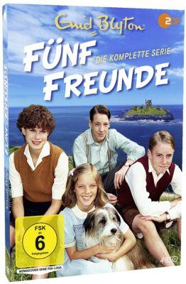 Enid Blyton: Fünf Freunde - Die komplette Serie, Enid Blyton