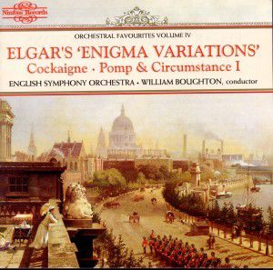 Enigma Variations, William Boughton, English String Orchestra