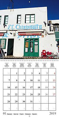 Enjoying Lanzarote (Wall Calendar 2019 300 × 300 mm Square) - Produktdetailbild 1