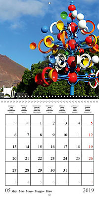 Enjoying Lanzarote (Wall Calendar 2019 300 × 300 mm Square) - Produktdetailbild 5