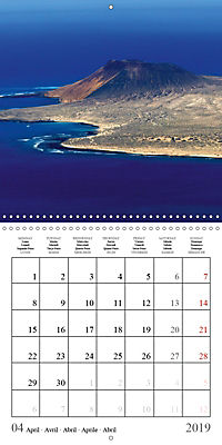 Enjoying Lanzarote (Wall Calendar 2019 300 × 300 mm Square) - Produktdetailbild 4