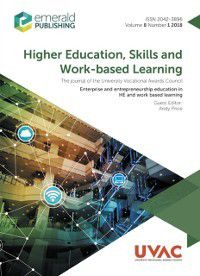 Enterprise and Entrepreneurship education in HE and work based learning