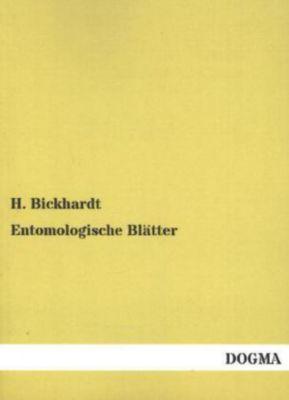 Entomologische Blätter