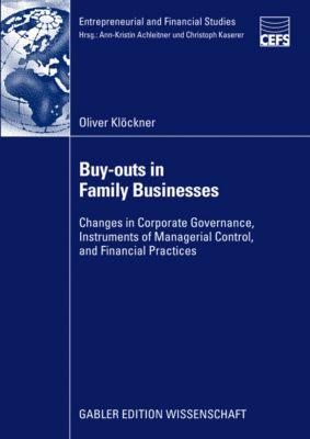 Entrepreneurial and Financial Studies: Buy-outs in Family Businesses, Oliver Klöckner