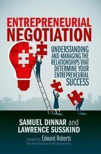 Entrepreneurial Negotiation, Samuel Dinnar, Lawrence Susskind
