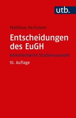 Entscheidungen des EuGH, Matthias Pechstein