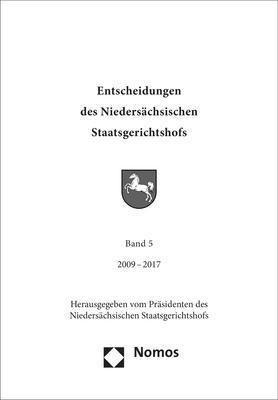 Entscheidungen des Niedersächsischen Staatsgerichtshofs