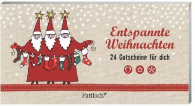Entspannte Weihnachten 24 Gutscheine für dich, Christine Rechl