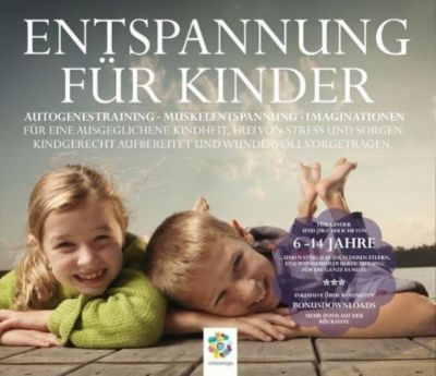 Entspannung für Kinder, Audio-CD, Sonja Posehn