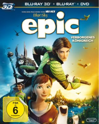 Epic: Verborgenes Königreich - 3D-Version, Tom J. Astle, Matt Ember, James V. Hart, William Joyce, Daniel Shere