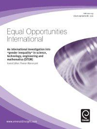Equal Opportunities International: Equal Opportunities International, Volume 25, Issue 8