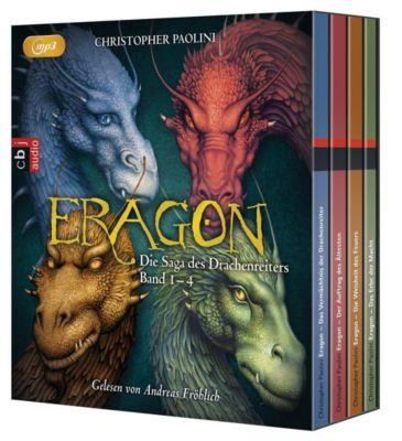 Eragon - Die Saga des Drachenreiters, 16 MP3-CDs, Christopher Paolini