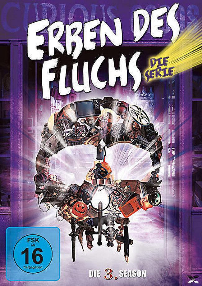 Erben Des Fluchs Die Serie Die 3 Season Dvd Weltbildch