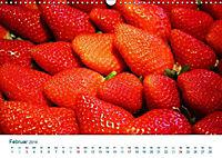 Erdbeeren 2019. Kulinarische Impressionen (Wandkalender 2019 DIN A3 quer) - Produktdetailbild 2