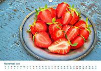 Erdbeeren 2019. Kulinarische Impressionen (Wandkalender 2019 DIN A3 quer) - Produktdetailbild 11