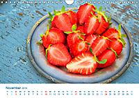 Erdbeeren 2019. Kulinarische Impressionen (Wandkalender 2019 DIN A4 quer) - Produktdetailbild 11