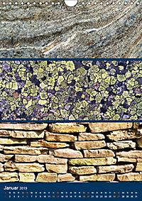 Erdfarben - Kunstvolle Formen aus Stein und Sand (Wandkalender 2019 DIN A4 hoch) - Produktdetailbild 1