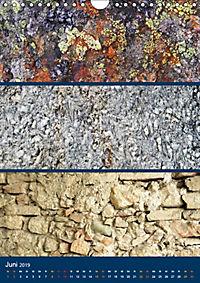Erdfarben - Kunstvolle Formen aus Stein und Sand (Wandkalender 2019 DIN A4 hoch) - Produktdetailbild 6