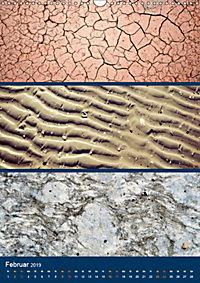 Erdfarben - Kunstvolle Formen aus Stein und Sand (Wandkalender 2019 DIN A3 hoch) - Produktdetailbild 2