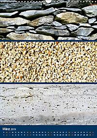 Erdfarben - Kunstvolle Formen aus Stein und Sand (Wandkalender 2019 DIN A3 hoch) - Produktdetailbild 3