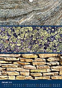 Erdfarben - Kunstvolle Formen aus Stein und Sand (Wandkalender 2019 DIN A3 hoch) - Produktdetailbild 1