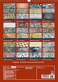Erdfarben - Kunstvolle Formen aus Stein und Sand (Wandkalender 2019 DIN A3 hoch) - Produktdetailbild 13