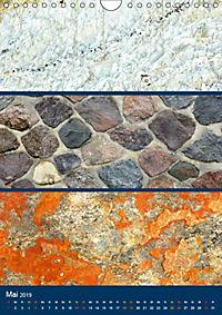 Erdfarben - Kunstvolle Formen aus Stein und Sand (Wandkalender 2019 DIN A4 hoch) - Produktdetailbild 5