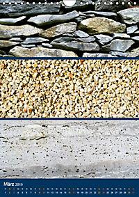 Erdfarben - Kunstvolle Formen aus Stein und Sand (Wandkalender 2019 DIN A4 hoch) - Produktdetailbild 3