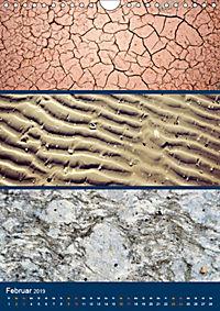 Erdfarben - Kunstvolle Formen aus Stein und Sand (Wandkalender 2019 DIN A4 hoch) - Produktdetailbild 2
