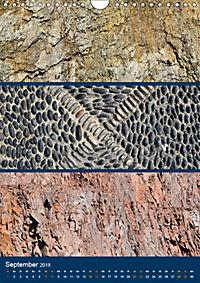 Erdfarben - Kunstvolle Formen aus Stein und Sand (Wandkalender 2019 DIN A4 hoch) - Produktdetailbild 9