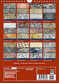 Erdfarben - Kunstvolle Formen aus Stein und Sand (Wandkalender 2019 DIN A4 hoch) - Produktdetailbild 13