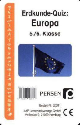 Erdkunde-Quiz: Europa (Kartenspiel), Klara Kirschbaum, Luise Welfenstein