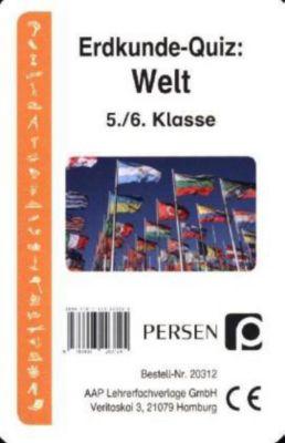 Erdkunde-Quiz: Welt (Kartenspiel), Klara Kirschbaum, Luise Welfenstein