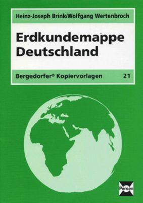 Erdkundemappe Deutschland, Heinz-Joseph Brink, Wolfgang Wertenbroch