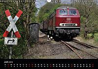 Erfolg einer Lokfamilie - Die V160-Baureihen (Wandkalender 2019 DIN A3 quer) - Produktdetailbild 6