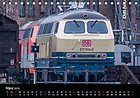 Erfolg einer Lokfamilie - Die V160-Baureihen (Tischkalender 2019 DIN A5 quer) - Produktdetailbild 3