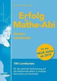 Erfolg im Mathe-Abi 2019 Hessen Lernkarten