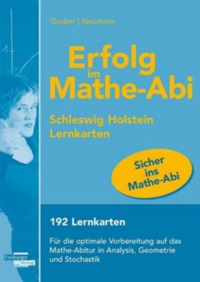 Erfolg im Mathe-Abi 2019 Schleswig-Holstein Lernkarten