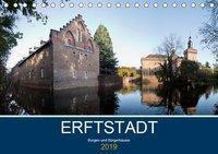 ERFTSTADT - Burgen und Bürgerhäuser (Tischkalender 2019 DIN A5 quer), U boeTtchEr