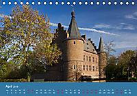 ERFTSTADT - Burgen und Bürgerhäuser (Tischkalender 2019 DIN A5 quer) - Produktdetailbild 4