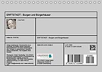 ERFTSTADT - Burgen und Bürgerhäuser (Tischkalender 2019 DIN A5 quer) - Produktdetailbild 13