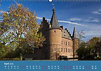 ERFTSTADT - Burgen und Bürgerhäuser (Wandkalender 2019 DIN A2 quer) - Produktdetailbild 4