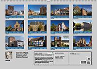 ERFTSTADT - Burgen und Bürgerhäuser (Wandkalender 2019 DIN A2 quer) - Produktdetailbild 13
