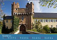 ERFTSTADT - Burgen und Bürgerhäuser (Wandkalender 2019 DIN A2 quer) - Produktdetailbild 11