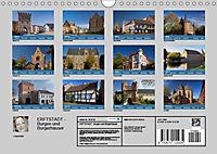 ERFTSTADT - Burgen und Bürgerhäuser (Wandkalender 2019 DIN A4 quer) - Produktdetailbild 13
