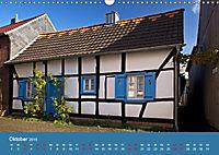 ERFTSTADT - Burgen und Bürgerhäuser (Wandkalender 2019 DIN A3 quer) - Produktdetailbild 10
