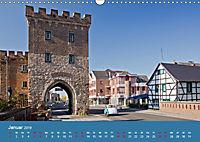 ERFTSTADT - Burgen und Bürgerhäuser (Wandkalender 2019 DIN A3 quer) - Produktdetailbild 1